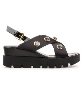 LIGHT WEDGE HEEL SANDAL JEWEL