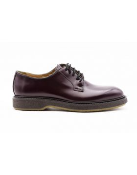 Men's Derby Plain with Rubber Sole