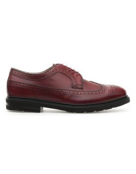 Men's Derby Full Brogue with Rubber Sole