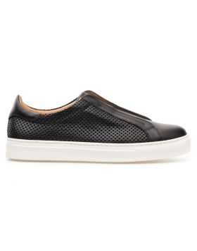 Men's Mesh Leather Slip On