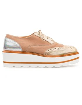 Women's Wingtip Platform Oxford