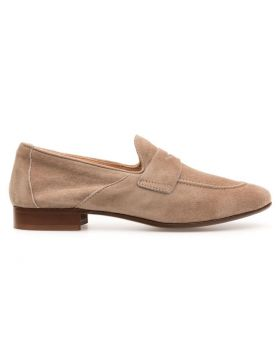 WOMEN'S LIGHT LOAFER WITH LEATHER SOLE