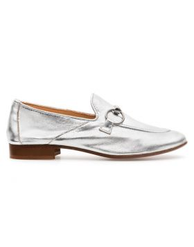 WOMEN'S LIGHT HORSEBIT LOAFER WITH LEATHER SOLE