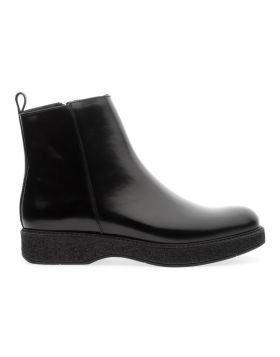 Soldini 20296-AA1 Women's Black Chelsea Boot