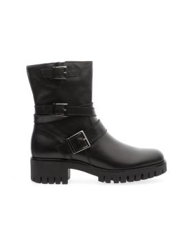 Soldini 20320-AA4 Women's Black Calfskin Boot
