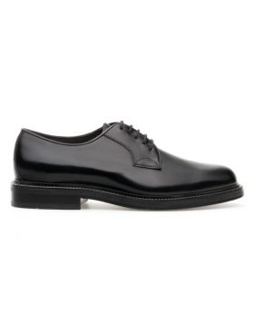 Men's Derby Plain with Leather Sole