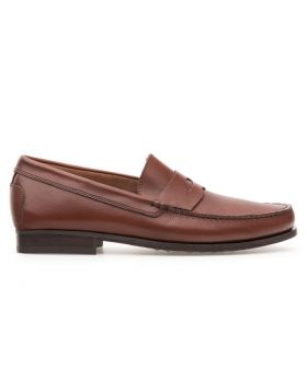 Men's Plain Loaffer With Leather Sole