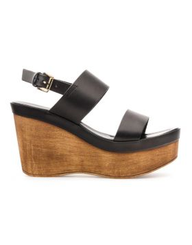 WOMEN'S WEDGE HEEL SANDAL WITH BANDS