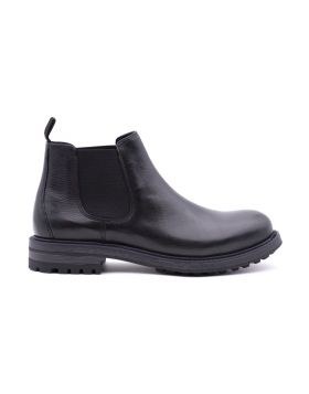 _x000D_Men's Chelsea leather ankle boot
