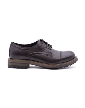 Derby Man in tumbled leather