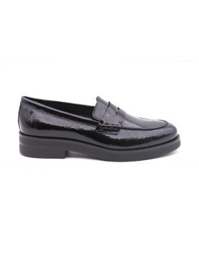 Woman moccasinin paint -NERO-NRO-35