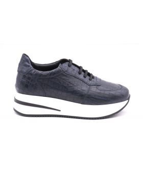 Women's sneaker platform in calf leather -OLTREMARE-OLT-35