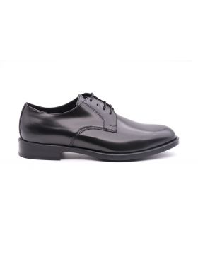 Derby Man in shiny leather-NERO-NRO-39