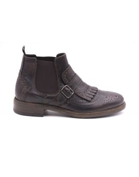 Men's Chelsea leather ankle boot-EBANO-EBN-39