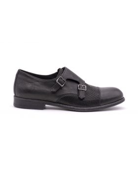 MEN'S MONK STRAP RUBBER SOLE