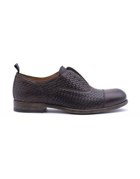 MEN'S SLIP ON OXFORD RUBBER SOLE-EBANO-45