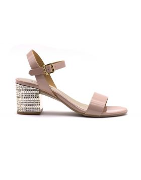 WOMAN'S SANDAL JEWEL HEEL
