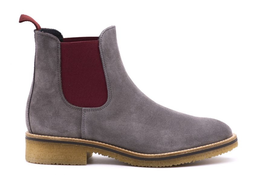 pick up vast selection factory outlet Chelsea Boot Women's suede and contrast elastic